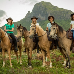 Balade à cheval avec Cavalia Ile Maurice