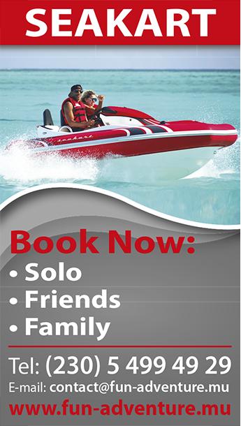 SeaKart Fun Adventures Mauritius
