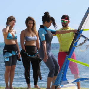 Ion Club wind surf school le Morne Mauritius