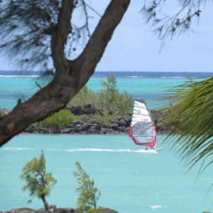Ion Club Mauritius wind surf school Anse la Raie