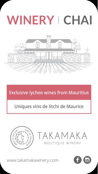 Takamaka Winery Ile Maurice