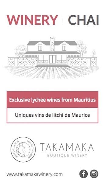 Takamaka vin de litchi Ile Maurice
