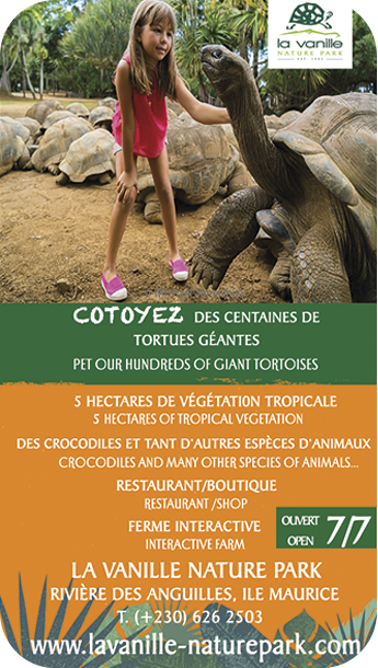 La Vanille Nature Park Ile Maurice