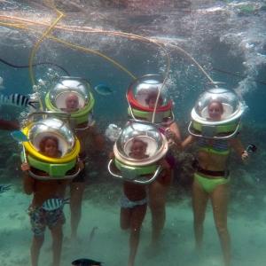 aquaventure ne pas rater marche sous l'eau maurice