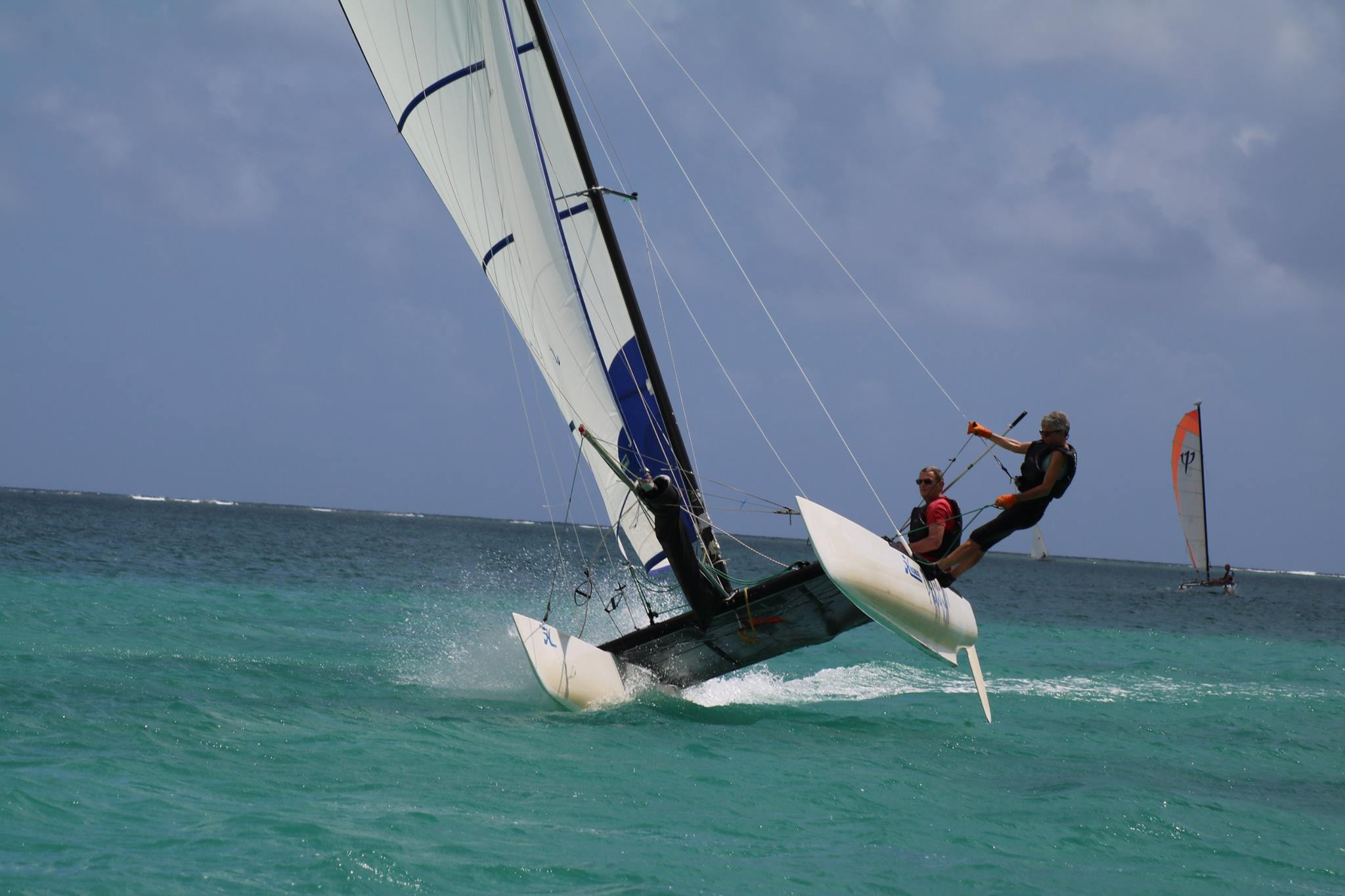 Wildwind location catamaran Maurice