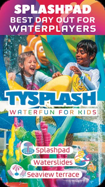 Tysplash - Parc aquatique pour enfants - Cascavelle Ile Maurice