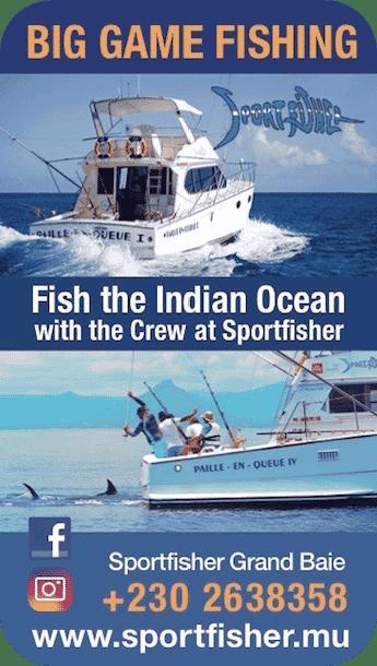 Sportfisher - Centre de pêche aux gros à Grand Baie - Ile Maurice