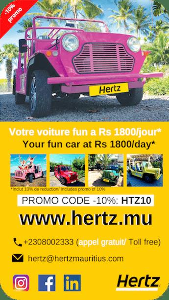 Hertz Mauritius - Location voiture - Ile maurice